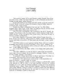 Ion Creanga - Pagina 1