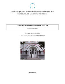 Contabilitatea Institutiilor Publice - Pagina 1