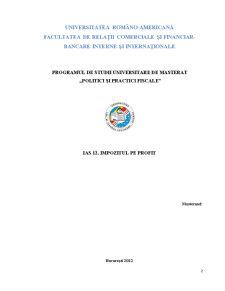 Standarde Internaționale de Raportare Financiară - Pagina 2