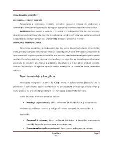 Reciclarea Ambalajelor - Ambalaje Inteligente - Pagina 2