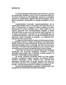 Reeducarea Funcțională Ambulatorie a Genunchiului După Ligamentoplastie - Pagina 2