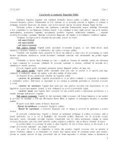 Buget de Stat si Trezorerie - Pagina 2