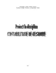Aplicatii Privind Diferite Metode din Contabilitatea de Gestiune - Pagina 1