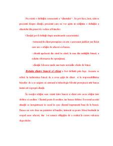 Clientii unei Banci si Serviciile Oferite - Pagina 2