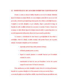 Clientii unei Banci si Serviciile Oferite - Pagina 3