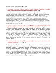 Rezolvari Comert International - Pagina 1