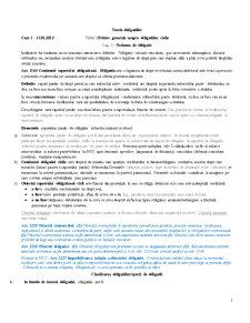 Drept Civil - Obligatii - Pagina 1