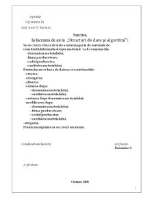 Realizarea unei Baze de Date cu Ajutorul Limbajului C - Pagina 2