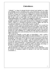 Realizarea unei Baze de Date cu Ajutorul Limbajului C - Pagina 4