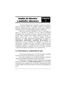 Analiza de Laborator a Mărfurilor Alimentare - Pagina 1