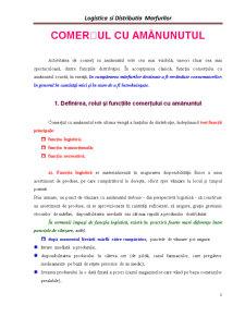 Logistica si Distributia Marfurilor - Pagina 1