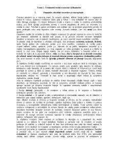 Conținutul social-economic al Finanțelor - Pagina 1