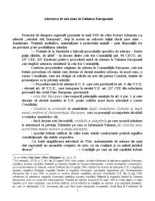 Aderarea de Noi State la Uniunea Europeană - Pagina 1