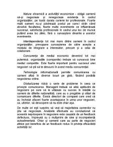 Tehnici de Comunicare și Negociere în Afaceri - Pagina 2