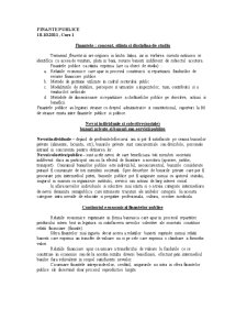 Finante Publice - Pagina 1