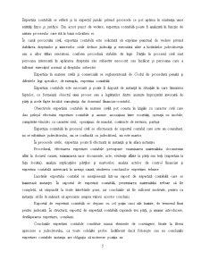 Deontologia Expertului Contabil, cu Studiu de Caz pe un Raport de Expertiza Contabila - Pagina 5