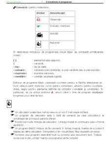 Programare Structurata - Structuri de Control VBA - Pagina 4