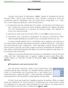 Programare Structurata - Structuri de Control VBA - Pagina 5