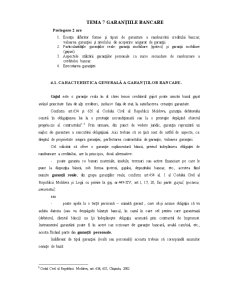 Garanțiile - Pagina 1