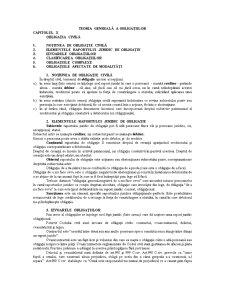 Teoria Obligatiilor - Pagina 1