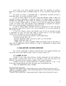 Norma Conflictuala in Raporturile de Familie - Pagina 5