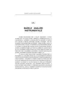 Bazele Analizei Instrumentale - Pagina 1