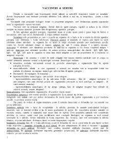 Curs Vaccinuri și Seruri - Pagina 1