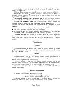 Noțiuni Introductive despre Sistemul de Drept și a Autoritatilor Statale din România - Pagina 2