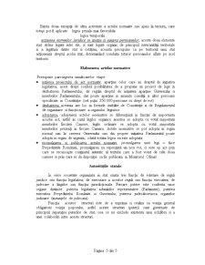 Noțiuni Introductive despre Sistemul de Drept și a Autoritatilor Statale din România - Pagina 5