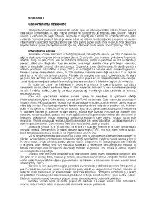 Etologie - Pagina 1