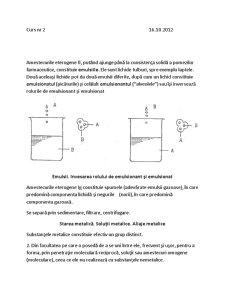Chimie si Materiale de Instalatii - Pagina 1