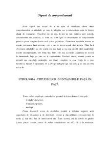 Tipuri de Comportament - Pagina 1