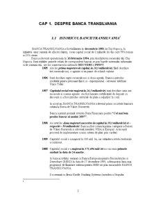 Activitatea de Front Office - Banca Transilvania - Pagina 1