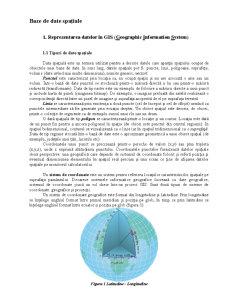 Baze de Date Spațiale - Pagina 1