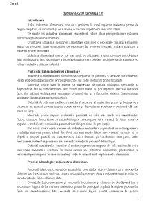 Tehnologii Generale - Pagina 1