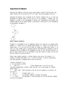 Drumuri Minime de Sursa Unica intr-un Graf - Pagina 3