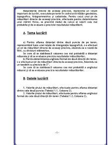 Măsurători Directe de Aceeași Precizie - Pagina 2