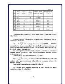 Măsurători Directe de Aceeași Precizie - Pagina 5