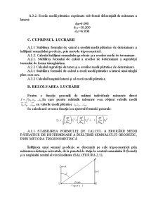 Eroarea unei Funcții de Mărimi Independente Măsurate Direct - Pagina 3