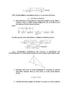 Eroarea unei Funcții de Mărimi Independente Măsurate Direct - Pagina 5