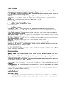 Cursuri Chimie Generala - Pagina 1