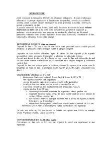 Depozite de Date - Oracle Warehouse - Pagina 1
