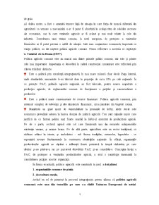 Piata Agricola Comuna. Aquis-ul Comunitar in Domeniul Agriculturii - Pagina 2