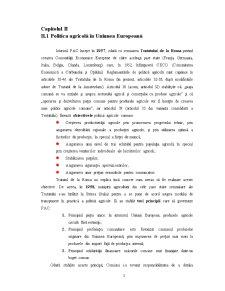 Piata Agricola Comuna. Aquis-ul Comunitar in Domeniul Agriculturii - Pagina 3