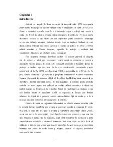 Politica Europeana de Mediu - Pagina 1