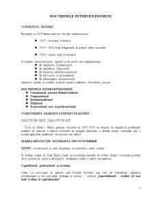 Suport Curs Doctrine Contemporane - Pagina 1