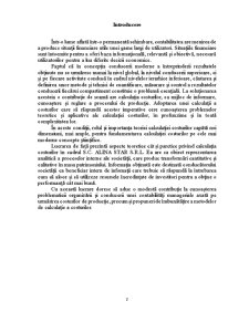 Metoda Costurilor Standard - Posibilitati de Aplicare si Evaluare a Performantelor - Pagina 2