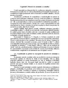 Metoda Costurilor Standard - Posibilitati de Aplicare si Evaluare a Performantelor - Pagina 3