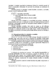 Metoda Costurilor Standard - Posibilitati de Aplicare si Evaluare a Performantelor - Pagina 4