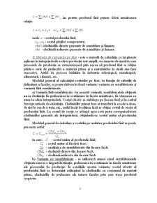 Metoda Costurilor Standard - Posibilitati de Aplicare si Evaluare a Performantelor - Pagina 5